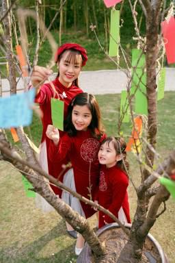 Ngắm những bộ ảnh áo dài đẹp lung linh trong 3 lễ hội hoa lớn nhất Tết Canh Tý - Ảnh 7.