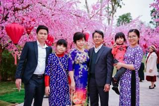 Ngắm những bộ ảnh áo dài đẹp lung linh trong 3 lễ hội hoa lớn nhất Tết Canh Tý - Ảnh 10.