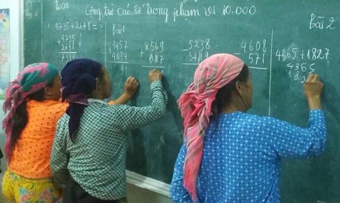 Hội LHPN Hà Giang hỗ trợ 'xóa mù tiếng phổ thông' gần 15.000 phụ nữ và trẻ em gái - Ảnh 1.