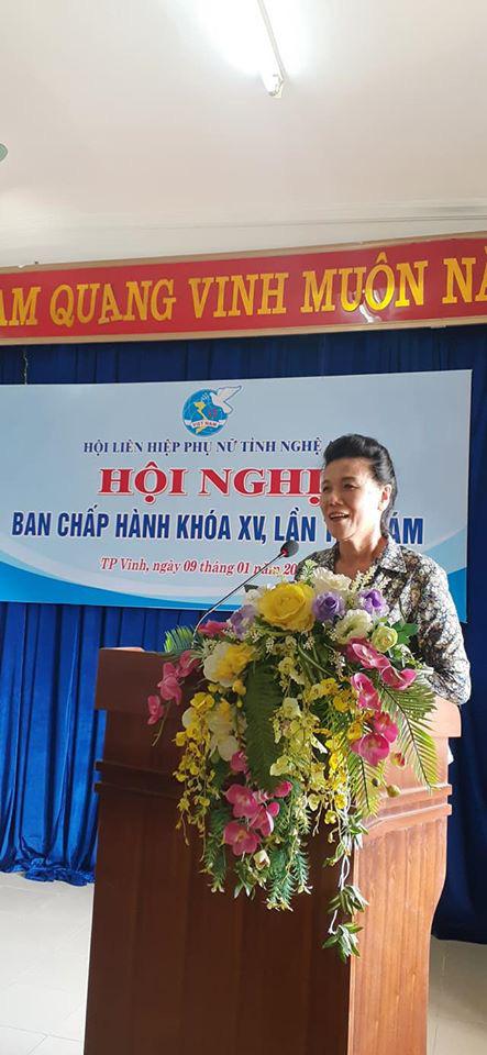 Hội LHPN tỉnh Nghệ An bầu bổ sung Phó Chủ tịch Hội nhiệm kỳ 2016 - 2021 - Ảnh 1.