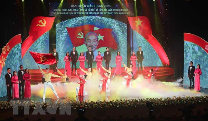 Trao giải Cuộc thi tìm hiểu 90 năm lịch sử vẻ vang của Đảng - Ảnh 3.
