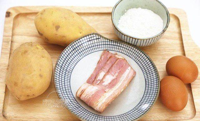 10 phút có ngay bánh trứng khoai tây vừa đẹp mắt lại bổ dưỡng cho con - Ảnh 2.
