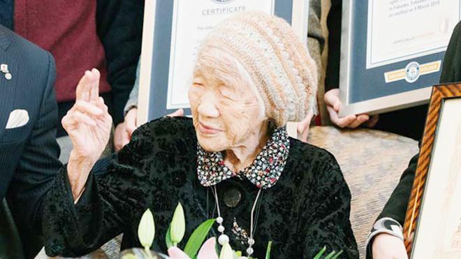 Cụ bà Kane Tanaka