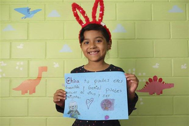 Dịch Covid-19: Thông điệp chia sẻ từ trẻ em các nước Mỹ Latinh - Ảnh 1.