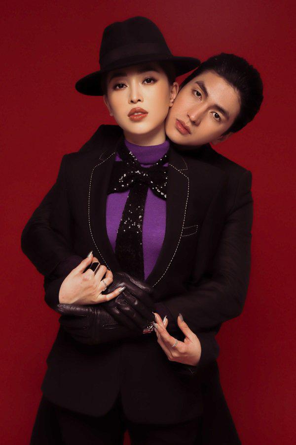 Phương Nga, Bình An tung bộ ảnh thời trang, kỷ niệm 1 năm công khai tình cảm - Ảnh 7.