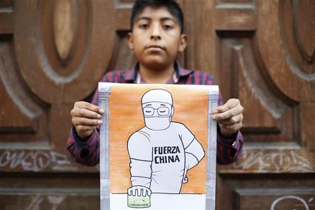 Dịch Covid-19: Thông điệp chia sẻ từ trẻ em các nước Mỹ Latinh - Ảnh 2.
