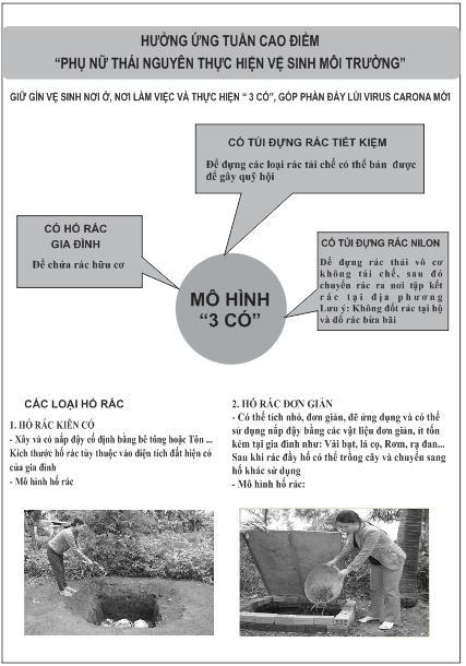 Phụ nữ Thái Nguyên đẩy mạnh phong trào '3 có' góp phần đẩy lùi Covid-19 - Ảnh 3.