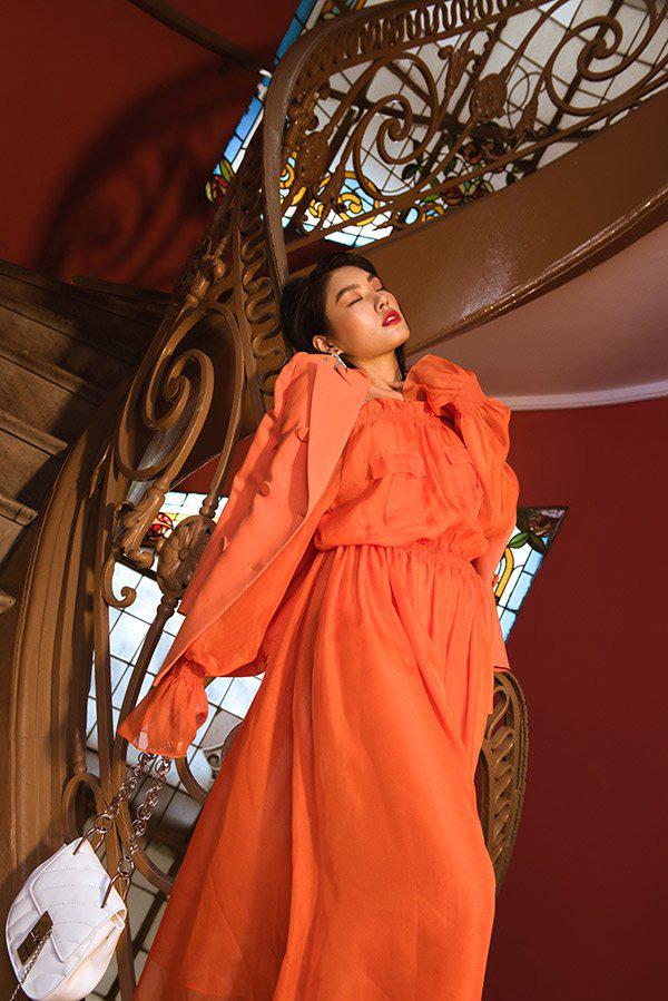 """Thảo Nhi Lê biến hoá với phong cách """"thời trang quý cô"""" cực ngoạn mục - Ảnh 8."""