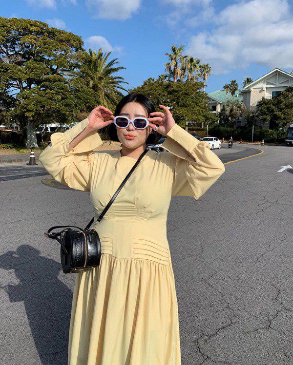 Học Đoan Trang diện váy lụa màu sắc, chị em sẽ luôn ngọt ngào và bay bổng - Ảnh 15.