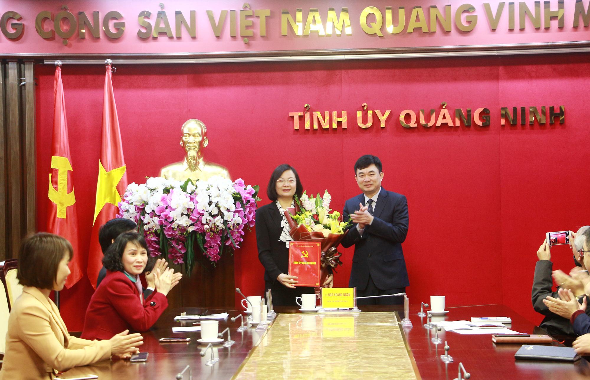 Quảng Ninh: Bổ nhiệm Phó Chủ tịch Hội LHPN làm Phó Chánh Văn phòng Tỉnh ủy - Ảnh 1.