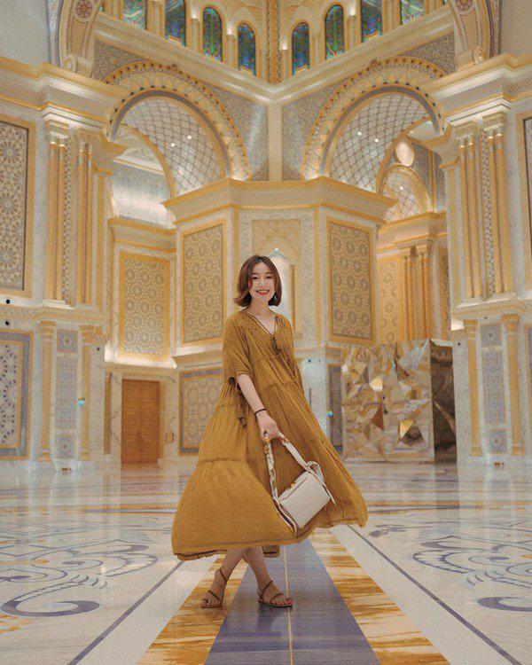 Học Đoan Trang diện váy lụa màu sắc, chị em sẽ luôn ngọt ngào và bay bổng - Ảnh 12.