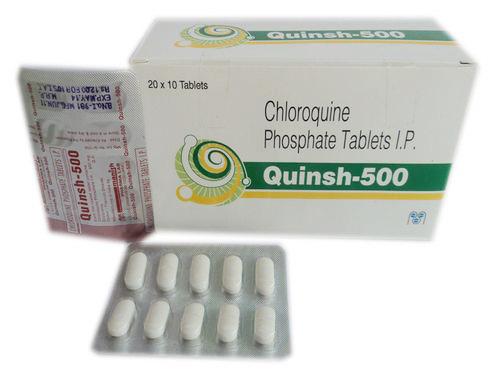Thuốc Chloroquine Phosphate