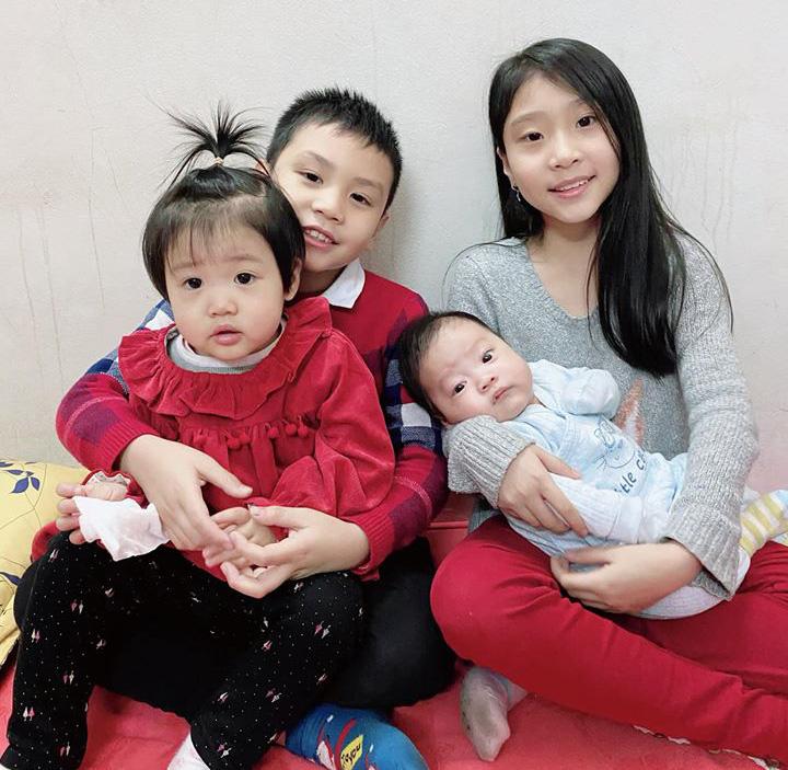 Bốn em nhỏ xinh xắn là động lực cho mẹ startup