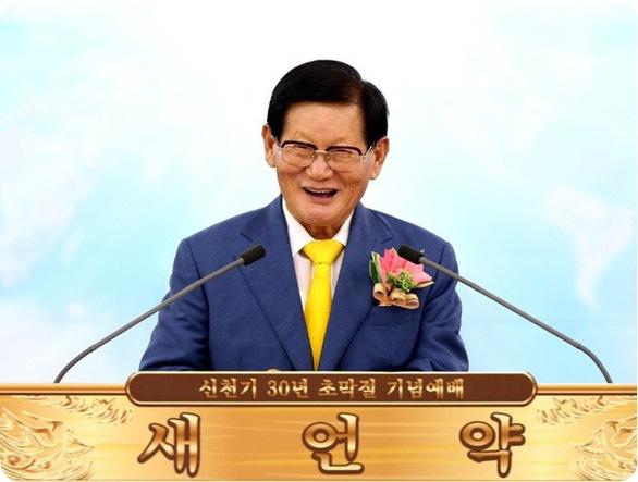 Lee Man-hee - Người sáng lập giáo phái Shincheonji