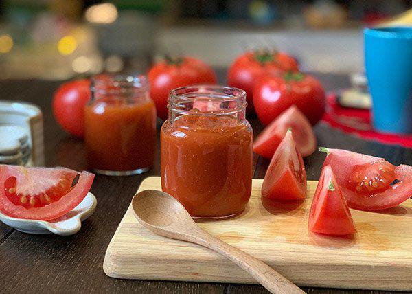 Tự tay làm sốt cà chua tươi nhanh trong nháy mắt, vừa rẻ vừa không lo hóa chất - Ảnh 6.