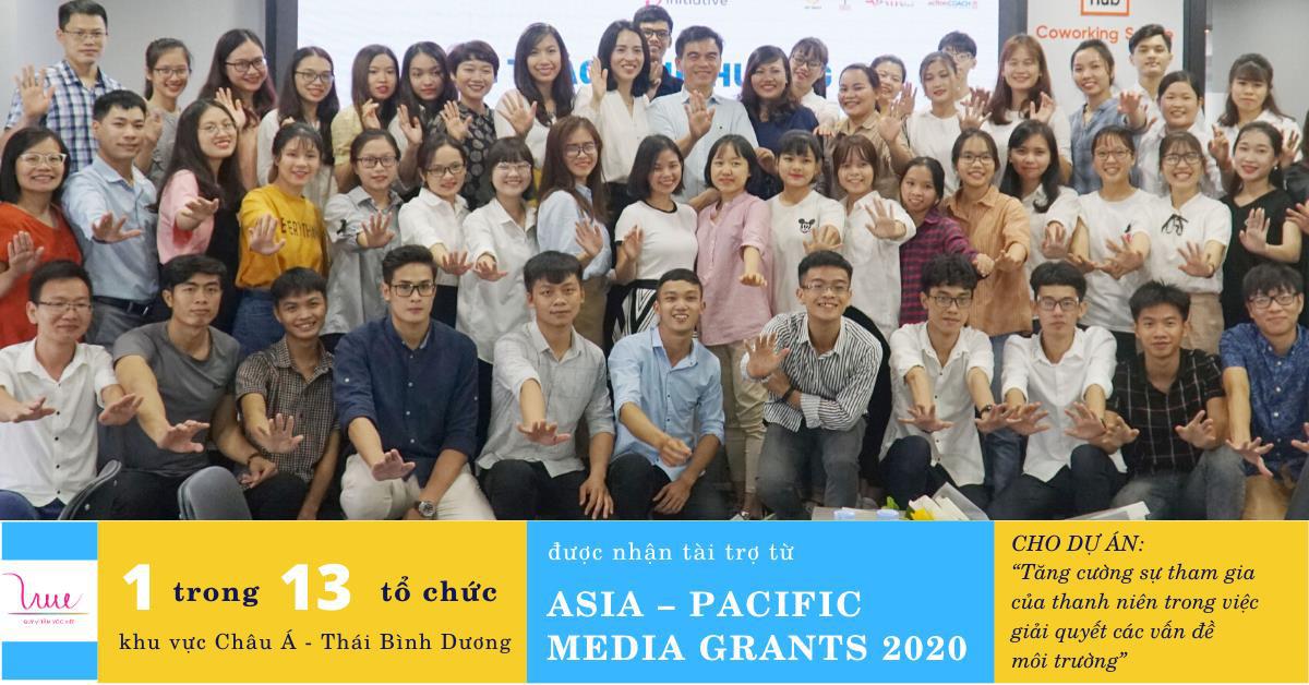 Đại diện duy nhất của Việt Nam góp mặt cùng 12 tổ chức trong khu vực Châu Á - Thái Bình Dương nhận tài trợ của Asia – Pacific Media Grants 2020 - Ảnh 1.