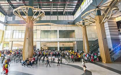 Có gì bên trong 'nhà ga cáp treo lớn nhất thế giới' tại Tây Ninh - Ảnh 3.