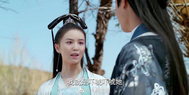 """Kỹ xảo """"lởm"""": Nữ diễn viên phim 'Tam thiên nha sát' (Trung Quốc) bị đổi mặt dị dạng, khán giả khóc thét - Ảnh 6."""