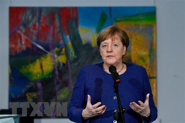 Thủ tướng Đức tự cách ly ở nhà sau khi tiếp xúc người nhiễm Covid-19 - Ảnh 1.