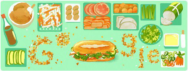 Bánh mì Việt Nam: Từ món ăn đường phố đến đặc sản được Google vinh danh - Ảnh 1.