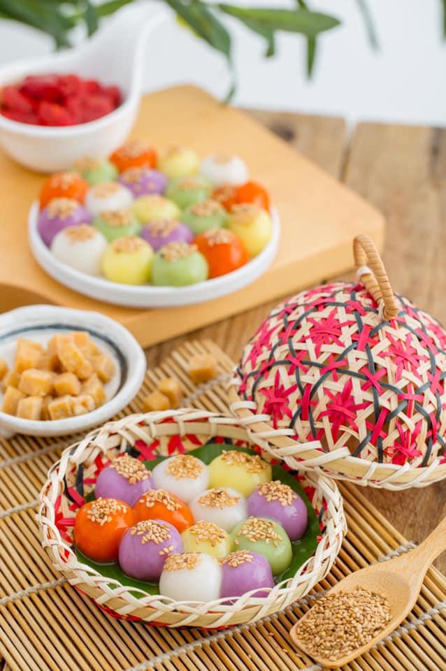 Tết Hàn thực sôi động với đủ loại bánh trôi bánh chay - Ảnh 3.