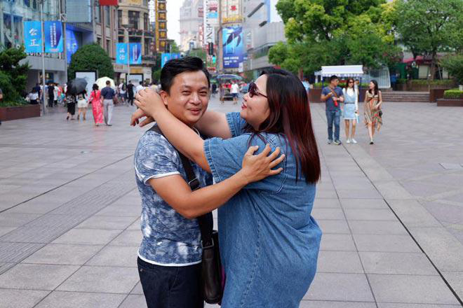 Nữ diễn viên trăm ký chia sẻ chuyện chưa có con với chồng kém 30kg sau nhiều năm cưới - Ảnh 1.