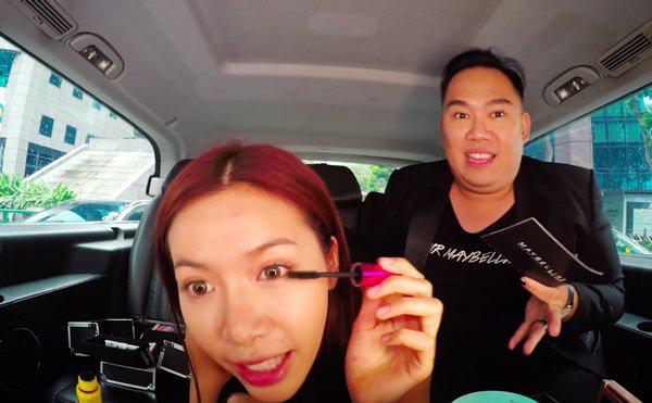Khéo léo như Hari Won, biến xế hộp thành hair salon để làm tóc đi diễn - Ảnh 14.