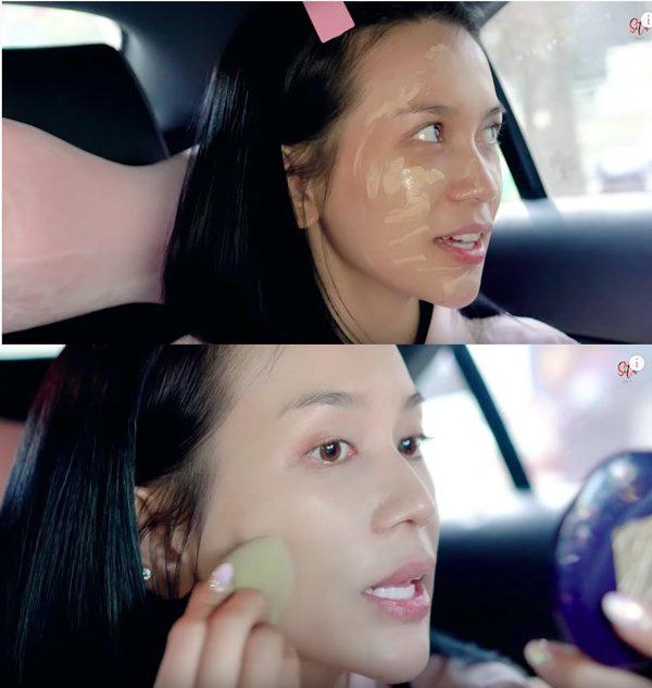 Khéo léo như Hari Won, biến xế hộp thành hair salon để làm tóc đi diễn - Ảnh 11.