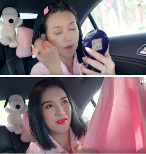Khéo léo như Hari Won, biến xế hộp thành hair salon để làm tóc đi diễn - Ảnh 12.