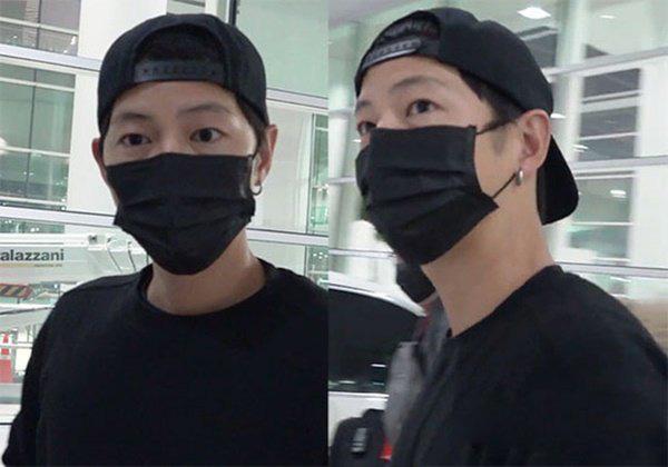 Vừa xuống sân bay Hàn Quốc, Song Joong Ki cùng ê-kíp 100 người sẽ phải cách ly 14 ngày - Ảnh 4.