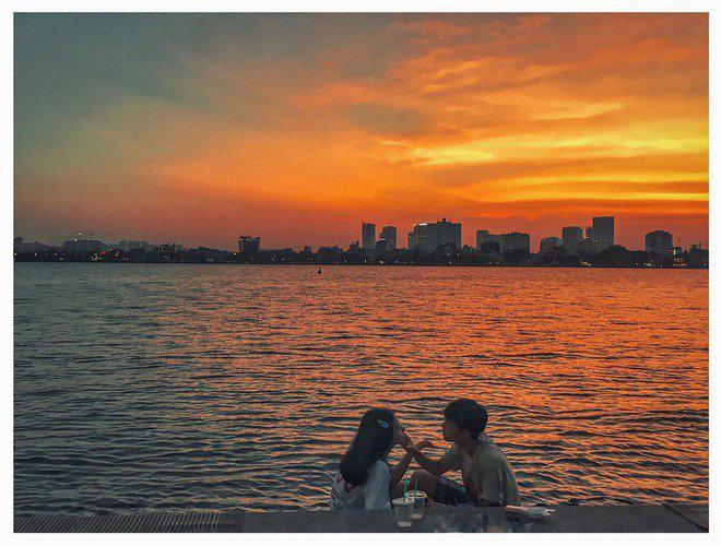 """Đi 1 vòng Hồ Tây có ngay 1001 bức ảnh """"sống ảo"""" - Ảnh 5."""