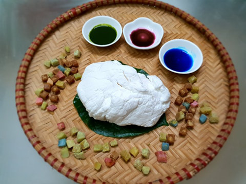 Làm bánh trôi nhân dừa tươi thơm bùi lạ miệng  - Ảnh 1.