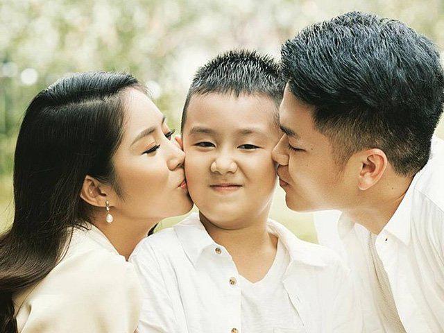 """Lê Phương """"nở mũi"""" vì con trai 8 tuổi hát hay như bố dượng, tự lập, giỏi chăm em - Ảnh 7."""