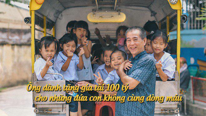 Xúc động với ông bố dành 100 tỷ cho hơn trăm đứa con không cùng máu mủ - Ảnh 2.