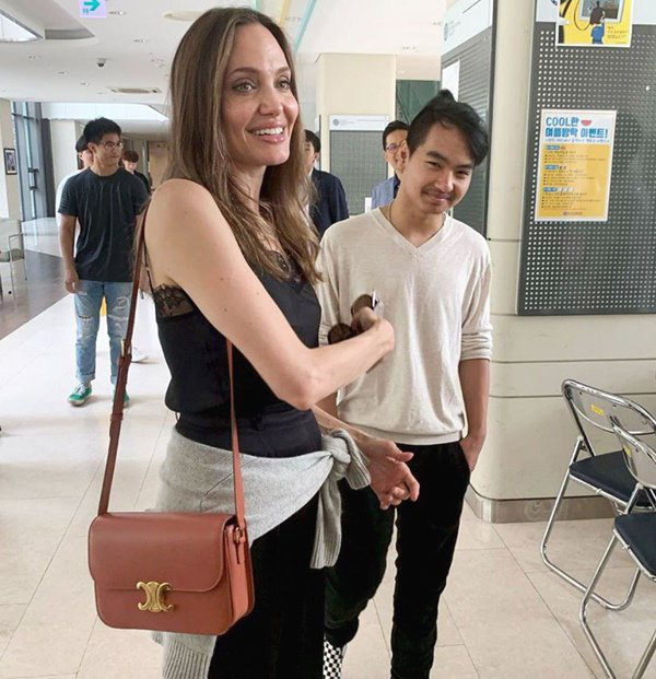 Trường học đóng cửa, cậu cả của Angelina Jolie từ Hàn về Mỹ vì dịch COVID-19 - Ảnh 6.