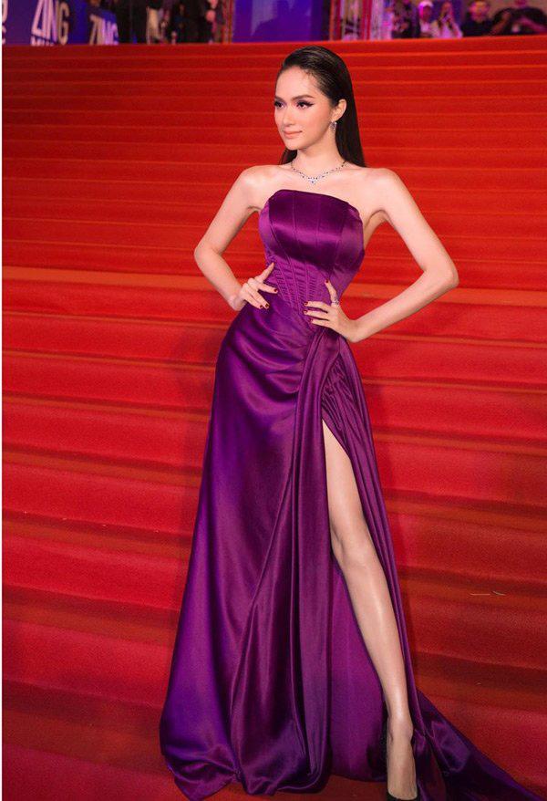 """Hương Giang chứng minh đẳng cấp nữ hoàng LGBT với loạt đồ """"tím lịm tìm sim"""" - Ảnh 3."""