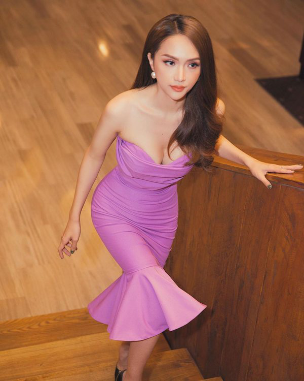 """Hương Giang chứng minh đẳng cấp nữ hoàng LGBT với loạt đồ """"tím lịm tìm sim"""" - Ảnh 13."""