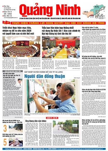 Tạm dừng xuất bản báo in Quảng Ninh hàng ngày từ ngày 2/4 đến hết ngày 15/4 - Ảnh 1.
