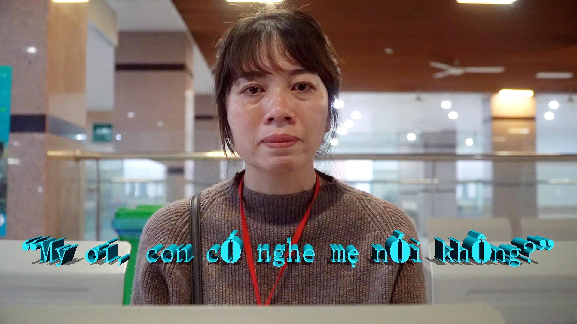 """Ngày 8/3 của người mẹ có con nguy kịch trong BV Bạch Mai: """"My ơi, con có nghe mẹ nói không?"""" - Ảnh 5."""