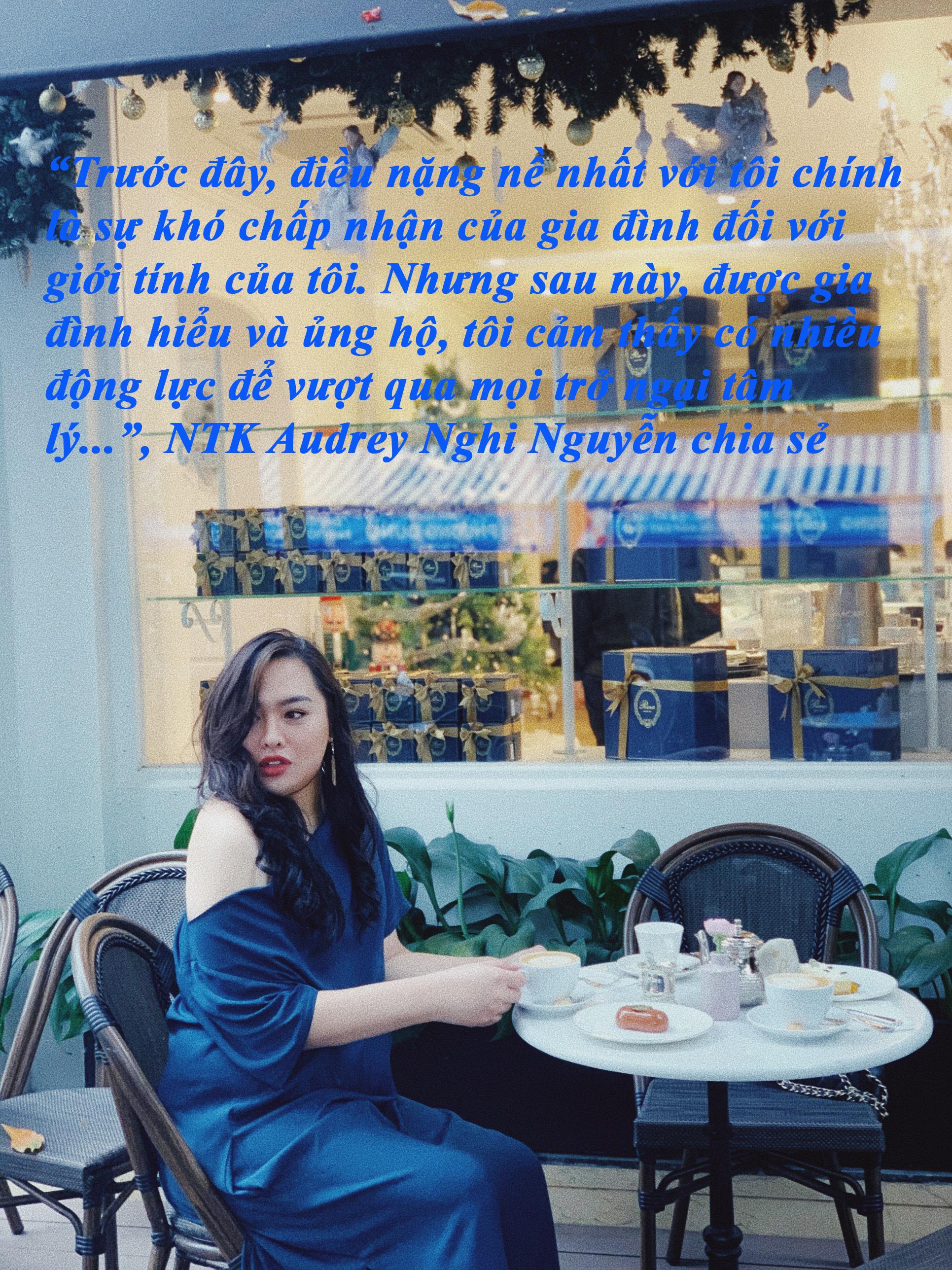 NTK Audrey Nghi Nguyễn: Chờ đón phiên bản hoàn hảo của mình - Ảnh 4.