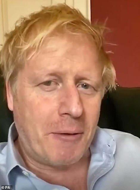 Thủ tướng Boris Johnson mệt mỏi vì nhiễm virus