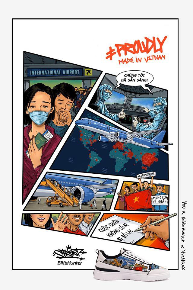 Lan tỏa tinh thần chống dịch COVID-19 với dự án Vẽ lên tự hào Việt Nam - Ảnh 1.