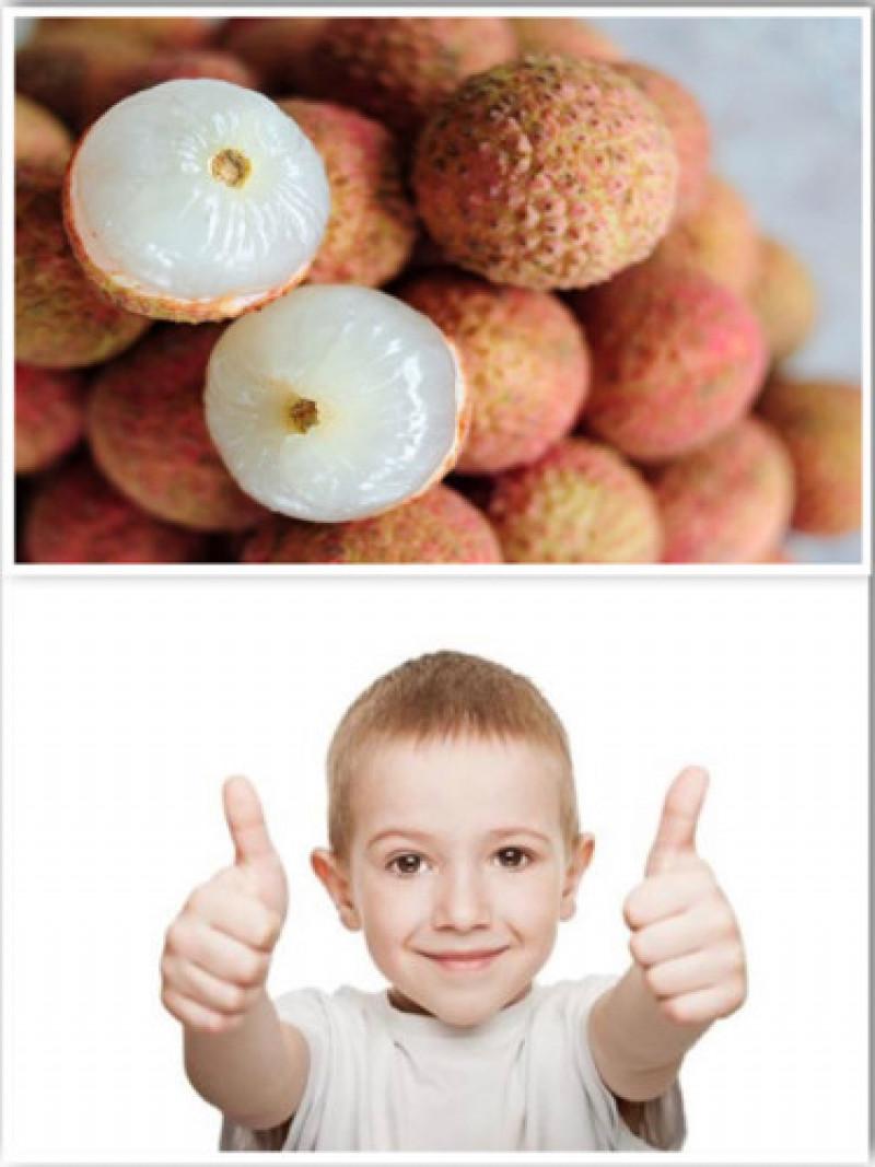 Tăng cường miễn dịch: Sự hiện diện của vitamin C trong vải làm cho nó có hiệu quả trong việc tăng cường khả năng miễn dịch của chúng ta. Vitamin tan trong nước này có đầy đủ chất chống oxy hoá bảo vệ cơ thể khỏi sự xâm nhập của vi khuẩn. Do đó, nó là một trái cây rất khuyến khích cho trẻ nhỏ.