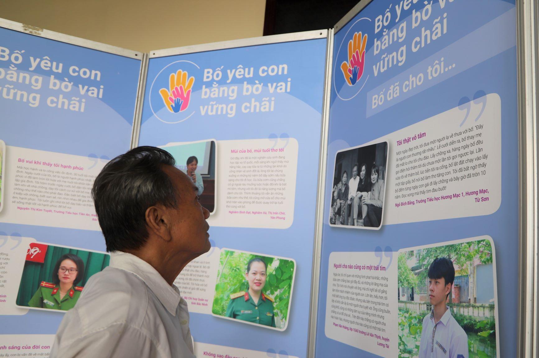 Song song với ngày hội thể thao là Ngày hội gia đình do Hội LHPN tỉnh Bắc Ninh tổ chức. Triển lãm ảnh cuộc thi
