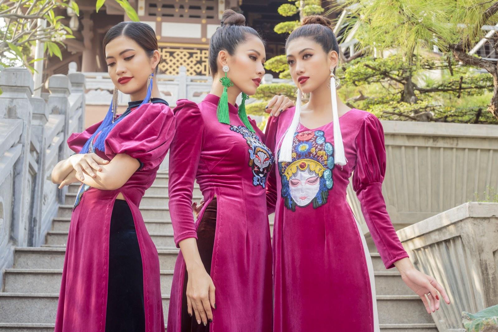 Lên ý tưởng cho BST này là những hình ảnh văn hóa mang giá trị lâu đời của Việt Nam, những họa tiết đầy uy quyền qua các thời kỳ lịch sử.