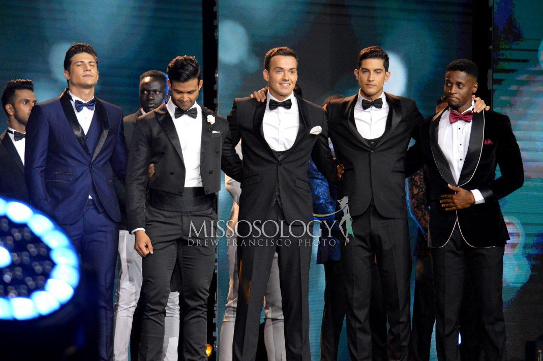 Thứ 1,2 từ trái sang: thí sinh Carlos Franco (Brazil) và Alejandro Martinez (CH Dominica) dừng chân ở Top 5 chung cuộc