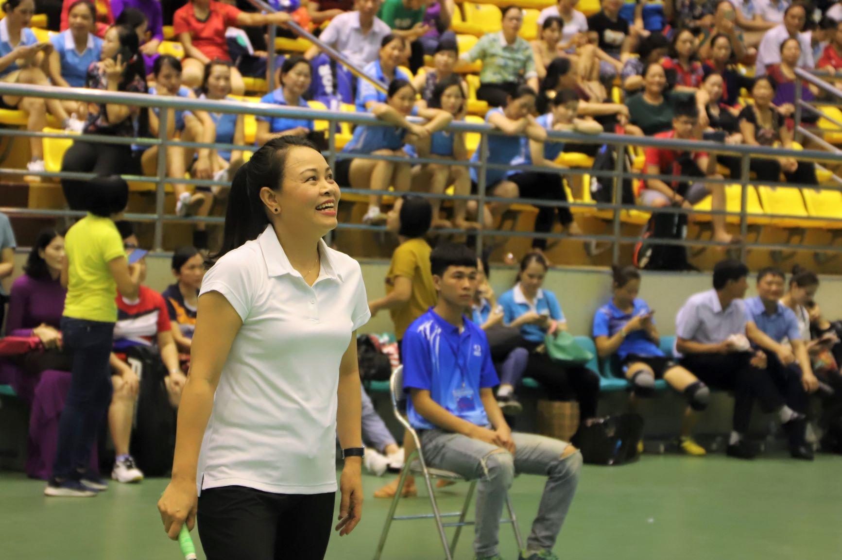 Chủ tịch Hội LHPNVN Nguyễn Thị Thu Hà mong muốn thông qua hoạt động thể dục thể thao, chị em phụ nữ sẽ được nâng cao rèn luyện thể chất, có sức khỏe hơn khi lựa chọn được môn thể thao phù hợp với bản thân.
