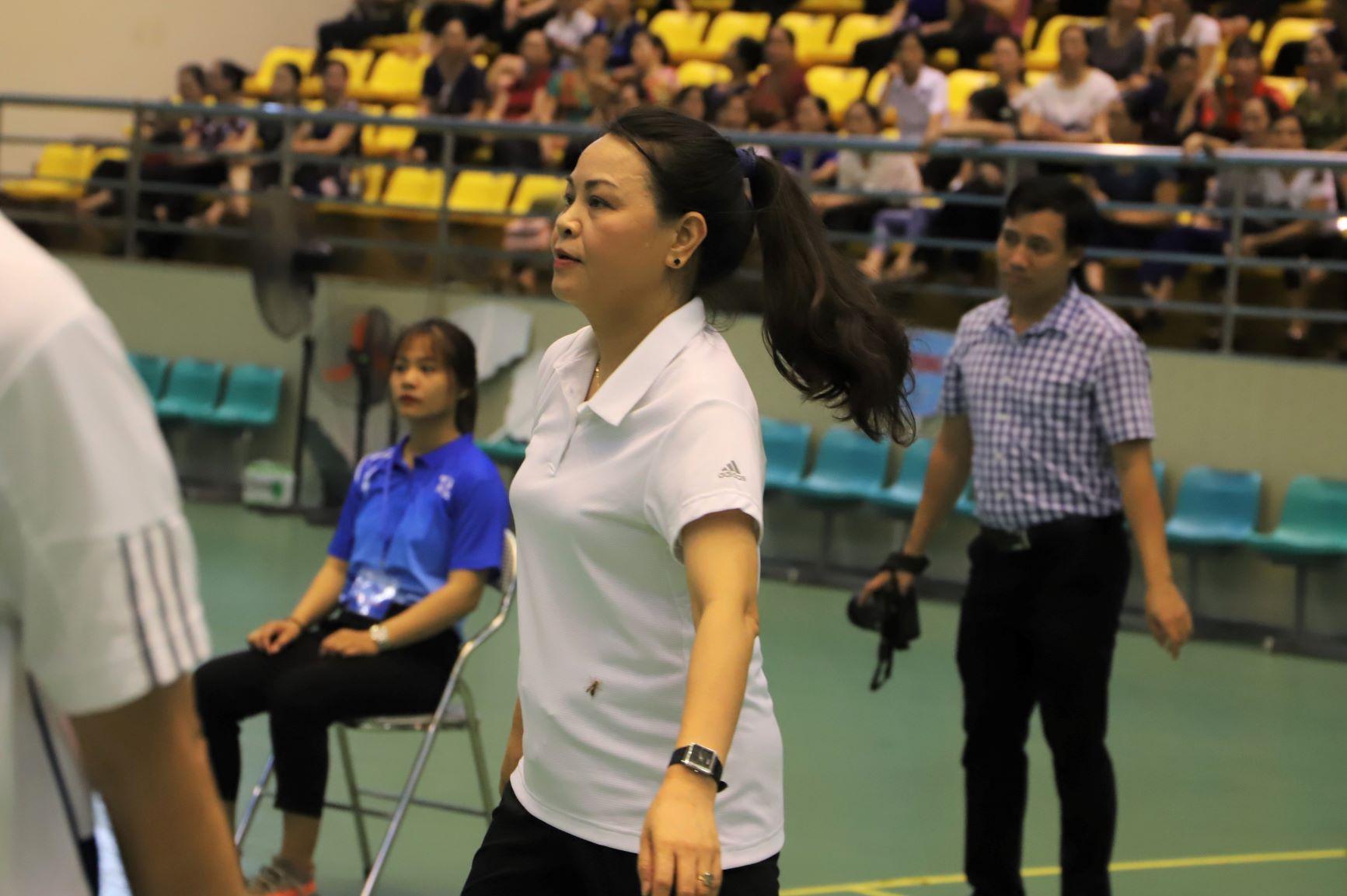 Sự say sưa, tập trung đầy dẻo dai của nữ vận động viên cho thấy đây là bộ môn thể thao được bà yêu thích.