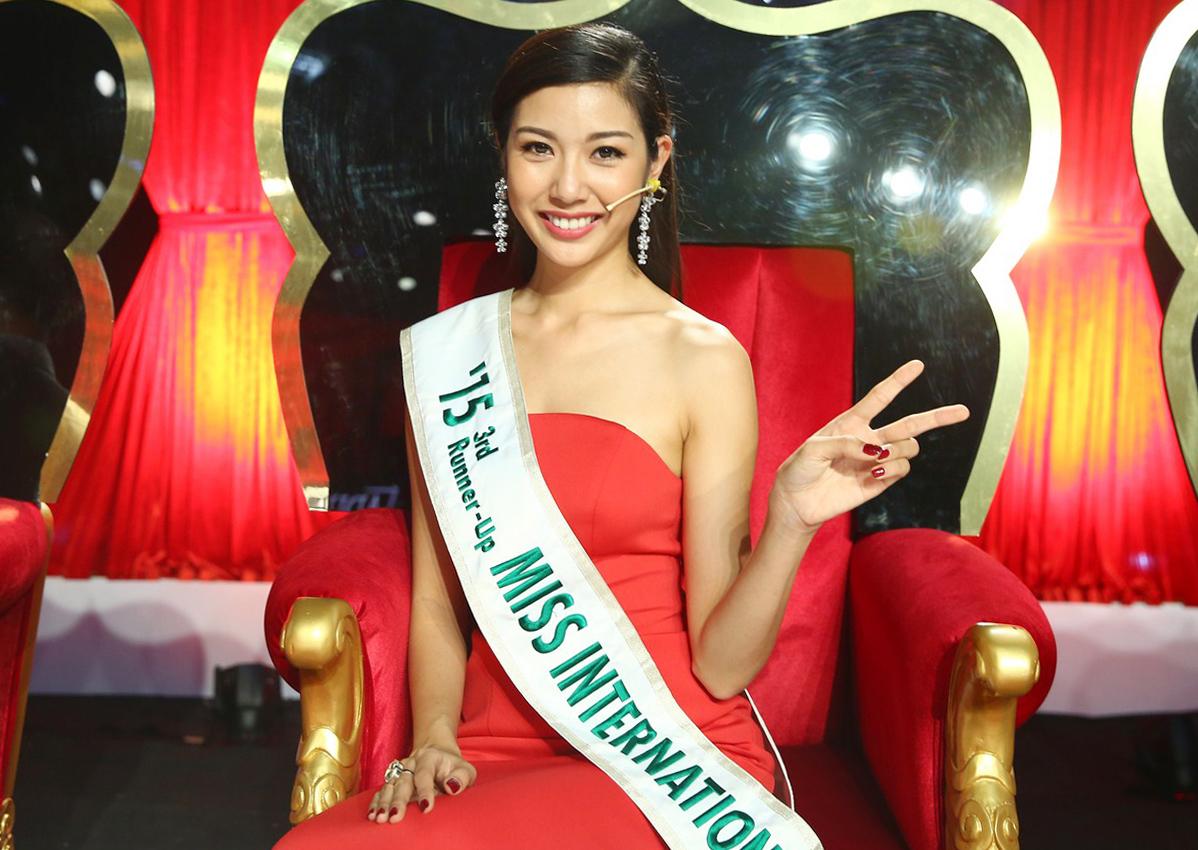 Năm 2015, Thúy Vân từng làm rạng danh nhan sắc Việt khi đoạt ngôi vị Á hậu 3 của cuộc thi Hoa hậu Quốc tế - Miss International tại Nhật Bản. Đây là 1 trong số 6 cuộc thi sắc đẹp lớn nhất thế giới và Việt Nam lần đầu tiên đạt được danh hiệu Á hậu ở cuộc thi này nhờ thành tích của Thúy Vân