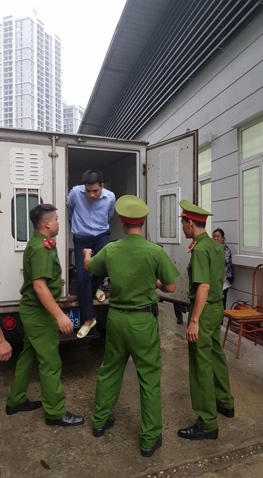 Hình ảnh đầu tiên về bị cáo Nguyễn Trọng Tình.